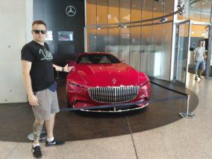 Mercedes-Benz Muzeum Stuttgart