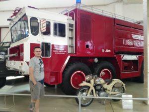 Liller Halle - wóz straażacki
