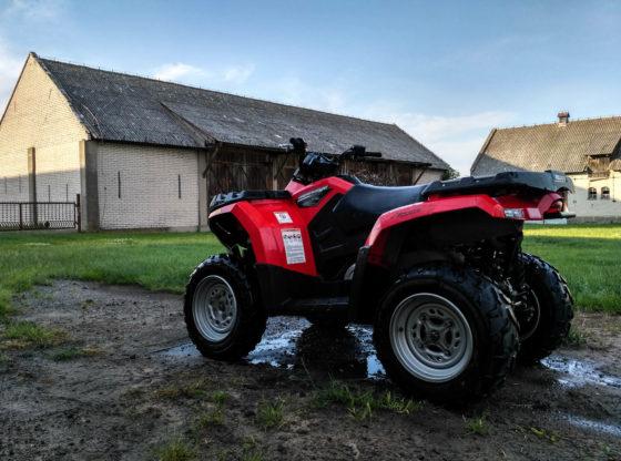 quad w gospodarstwie